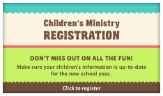 Sunday School Registration - Daily