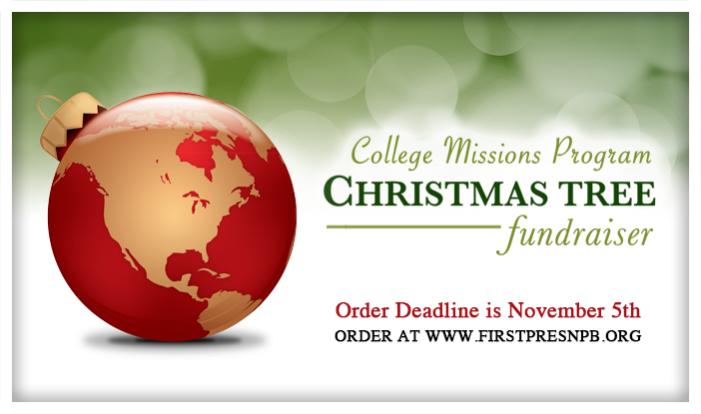 Christmas Tree Fundraiser - Nov 29 2014 8:00 AM