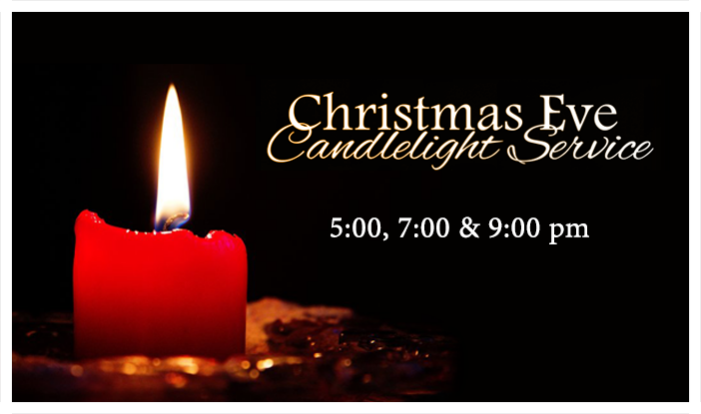 Christmas Eve Services - Dec 24 2014 5:00 PM