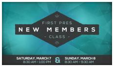 New Members Class - Mar 7 2015 8:30 AM