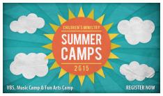 Summer Camp Registrations Open Online - Sundays
