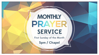 Monthly Prayer Service