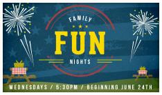 Family Fun Nights - Wednesdays 5:30 PM