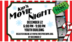 Kid's Movie Night - Dec 22 2017 6:00 PM