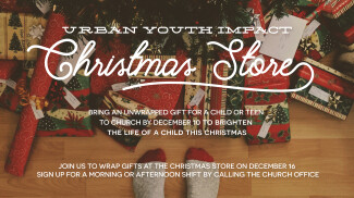 Urban Youth Impact Christmas Store