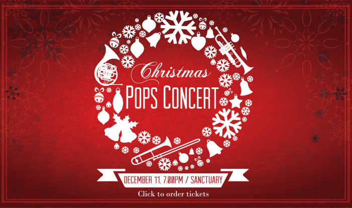 Christmas Pops Concert - Dec 11 2017 7:00 PM
