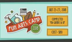 Summer Camps Registration Open  - Apr 1 2018