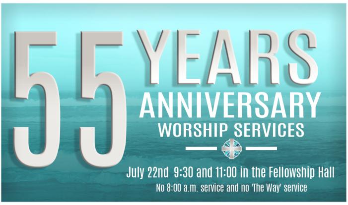 55 Year Anniversary Service